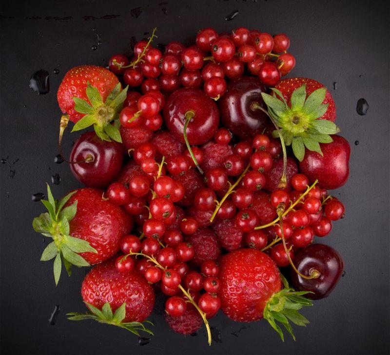 frutas vermelhas